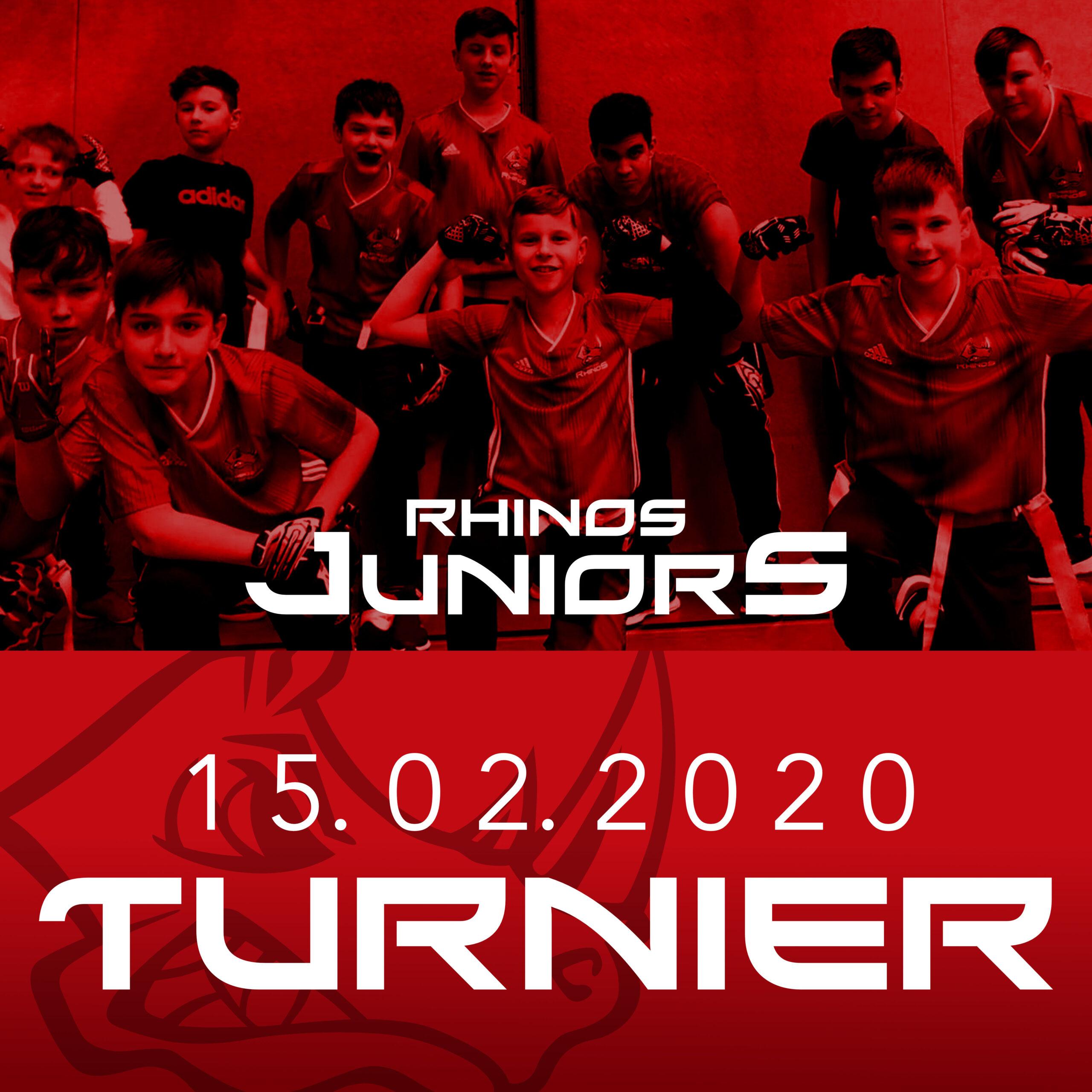 Heimturnier der Rhinos Juniors 15.02.2020