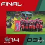 Herzo Rhinos gewinnen erstes Spiel in der Bavarian Bowl Series